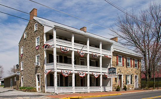 Fairfield Inn, Main Street, Fairfiled, PA, National Register