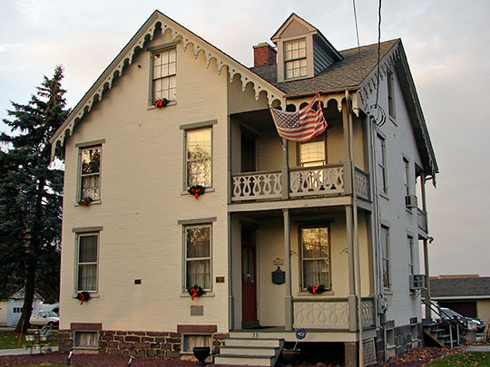 Sheads House, ca. 1862, 331 Buford Avenue, Gettysburg, PA, National Register