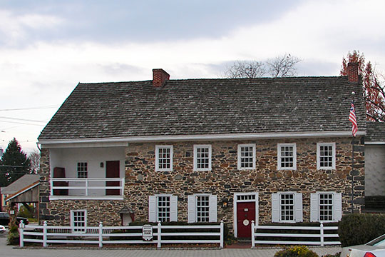 Dobbin House, ca. 1776, 89 Steinwehr Avenue, Gettysburg, PA, National Register