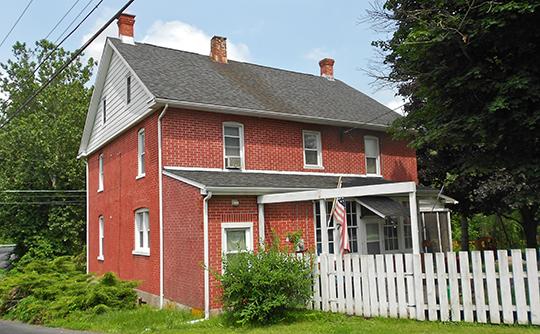 House in Zora, Liberty Township, Adams County, Pennsylvania