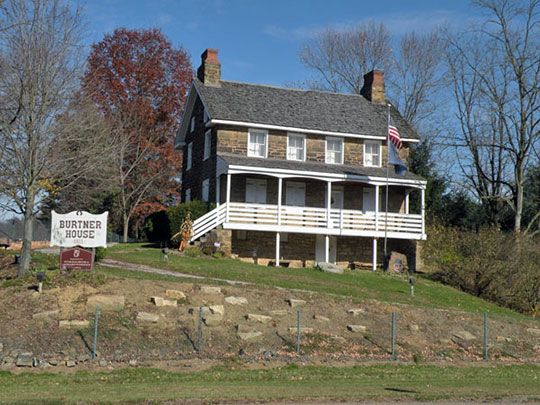 Burtner Stone House, ca. 1821, Burtner Road, Harrison Township, Allegheny County, PA.