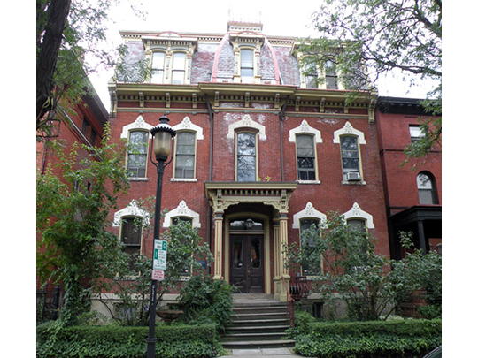 Multi-family home, ca. 1878, 841 North Lincoln Avenue, Allegheny West Historic District, Pittsburgh, PA.
