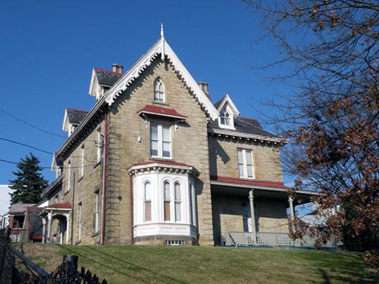Henderson-Metz House, 1516 Warren Street, Pittsburgh, PA, National Register