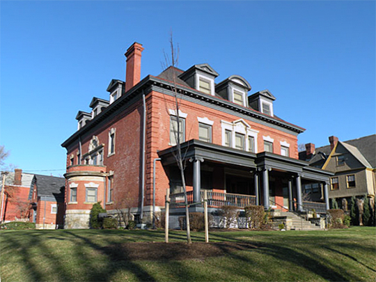 Jame Scott House, Highland Park neighborhood, Pittsburgh, PA, National register, ca. 1900