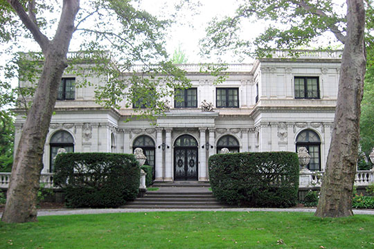 Moreland-Hoffstot House, ca. 1914, 5057 5th Avenue, Pittsburgh, PA, Narional Register