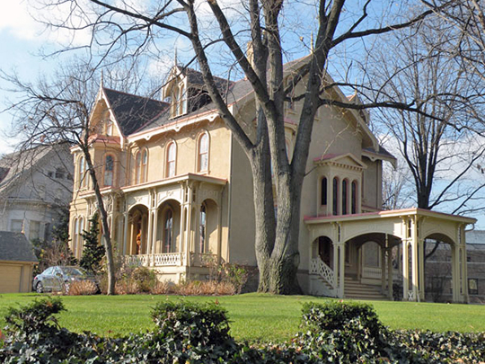 Sellers House, ca. 1858, 400 Shady Avenue, Pittsburgh, PA.
