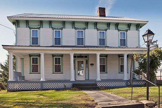 Thomas Marshall House, ca. 1868, State Street, Dayton, PA.