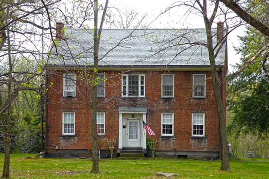 David Littell House, ca. 1851, 2039 Frankfort Road, Harshaville, PA, National Register