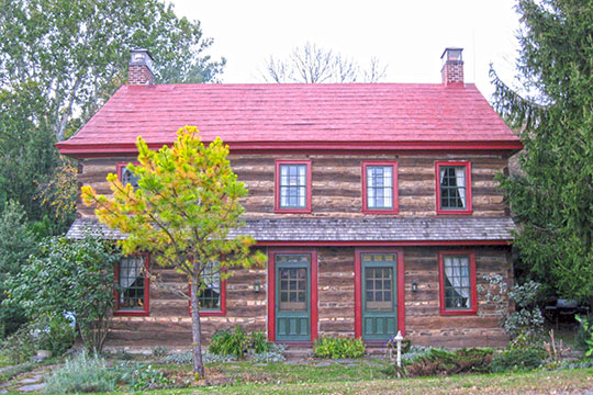 Riiter House, ca. 1790, Old Philadelphia Pike, Trexler Historic District, Kempton, PA, National Register