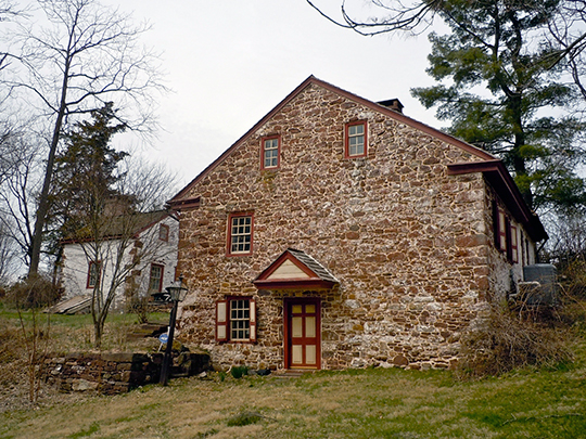 Mordecai Lincoln House, ca. 1733, Exeter Township, Berks County, PA, National Register