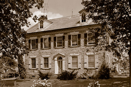 Henry Fisher House, ca. 1801, Route 622, Oley Township, Berks County, PA, National Register