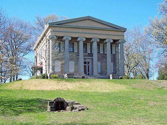 Baker Mansion, ca. 1848, 3500 Baker Boulevard, Altoona, PA, National Register