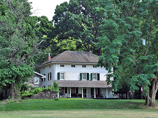 Trevose Manor (the Growden Mansion), ca. 1681, 5408 Neshaminy Valley Road, Bensalem, PA, National Register