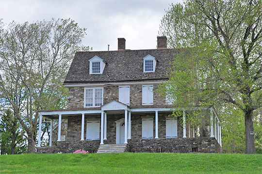 Phineas Pembertown House (Bolton Mansion), ca. 1687,1790, Holly Drive, Bristol, PA, National Register