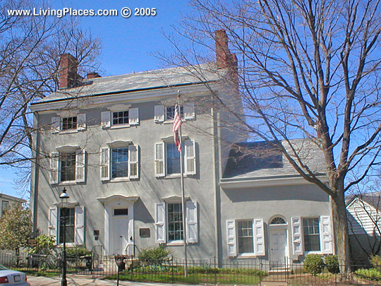 James Lorah House, National Register of Historic Places, Doylestown, PA