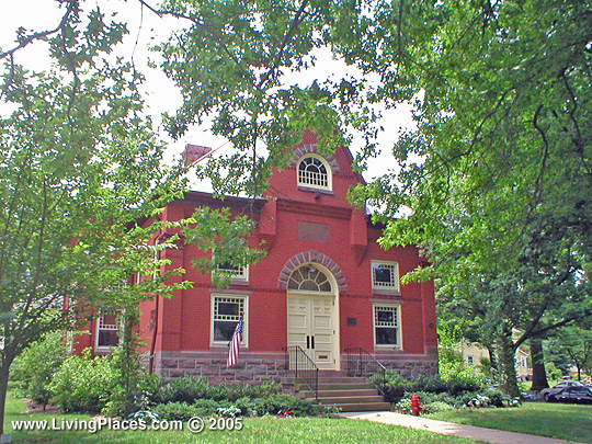 Langhorne Library, Borough of Langhorne, Bucks County, PA