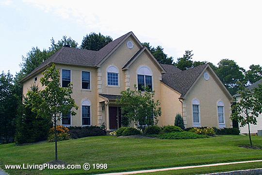 Afton Chase neighborhood, Lower Makefield, Bucks County, PA
