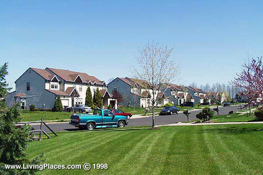 Bexley Orchards neighborhood, Lower Makefield, Bucks County, PA