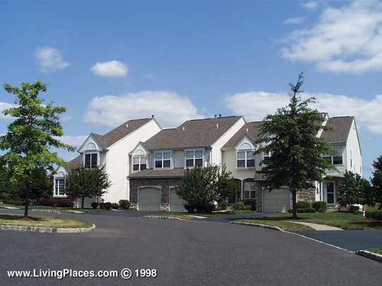 Makefield Glen neighborhood, Lower Makefield, Bucks County, PA
