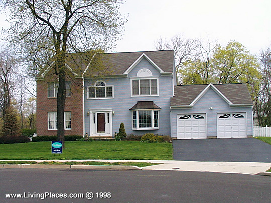 Rivergate neighborhood, Lower Makefield, Bucks County, PA