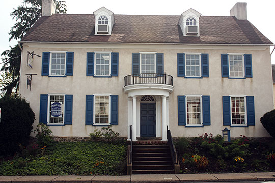 Enoch Roberts House, ca. 1814, 1226 West Broad Street, Quakertown, PA, National Register