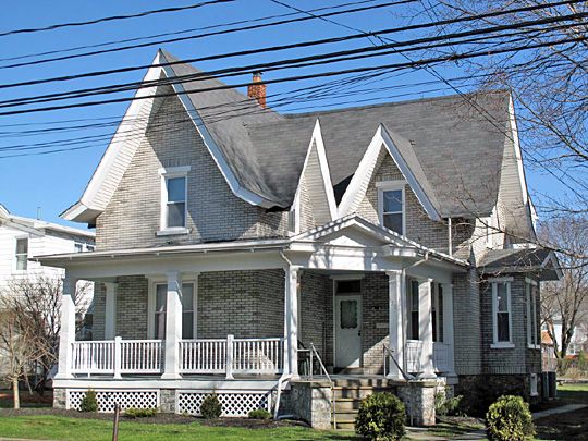 Residence in the Quakertown Historic District, National Register of Historic Places