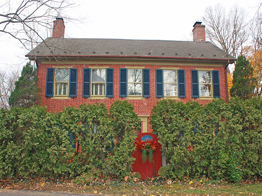 Benjamin Riegel House, ca. 1832, 29 Delaware Road, Riegelsville, PA, National Register