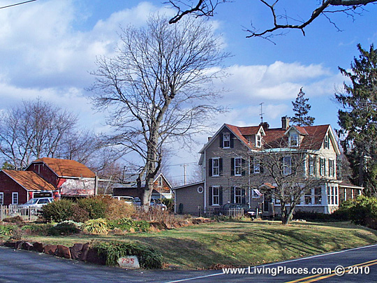 Dolington Estates neighborhood, Lower Makefield, Bucks County, PA