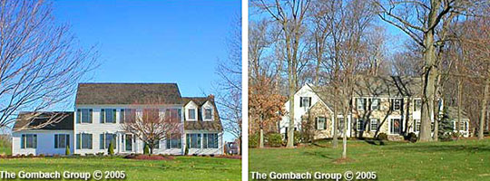Mill Pond Subdivision Homes, Upper Makefield Twp, PA