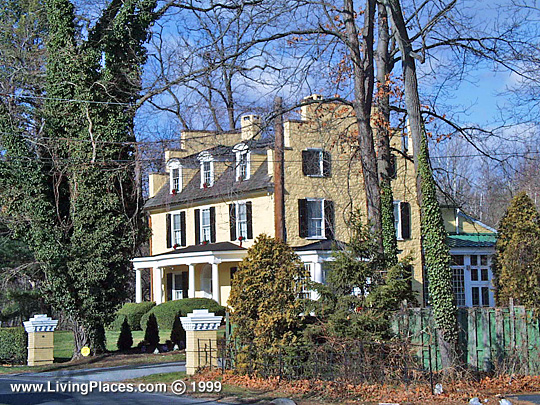 Lakeside, yardley Borough, ca. 1728, Thomas Yardley House, Bucks County, PA