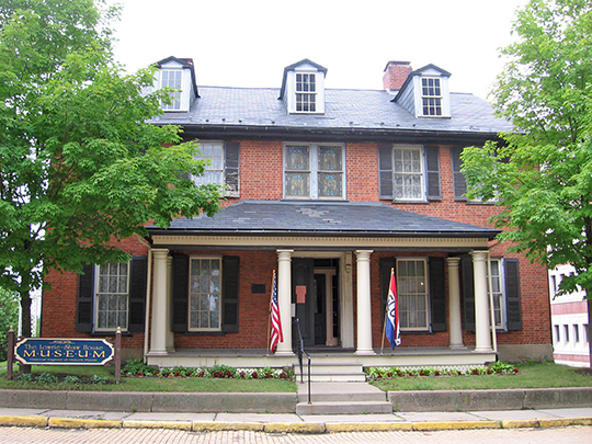 Senator Walter Lowrie House, ca. 1828, West Diamond and South Jackson Streets, Butler, PA, National Register