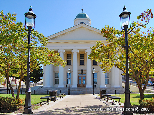 Centre County Courthouse, Bellefonte Borough, Pennsylvania