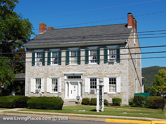 McAllister-Beaver House, East Bishop Street, Bellefonte Borough, Centre County, National Register of Historic Places,