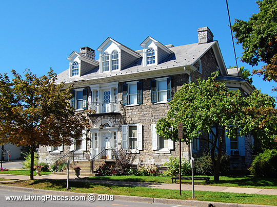 Miles-Humes House, National Register of Historic Places, Bellefonte Borough, Centre County, PA