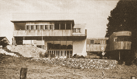 Oskar Stonorov House (Avon Lea), ca. 1938, Pickering Road, Phoenixville, PA, National Register