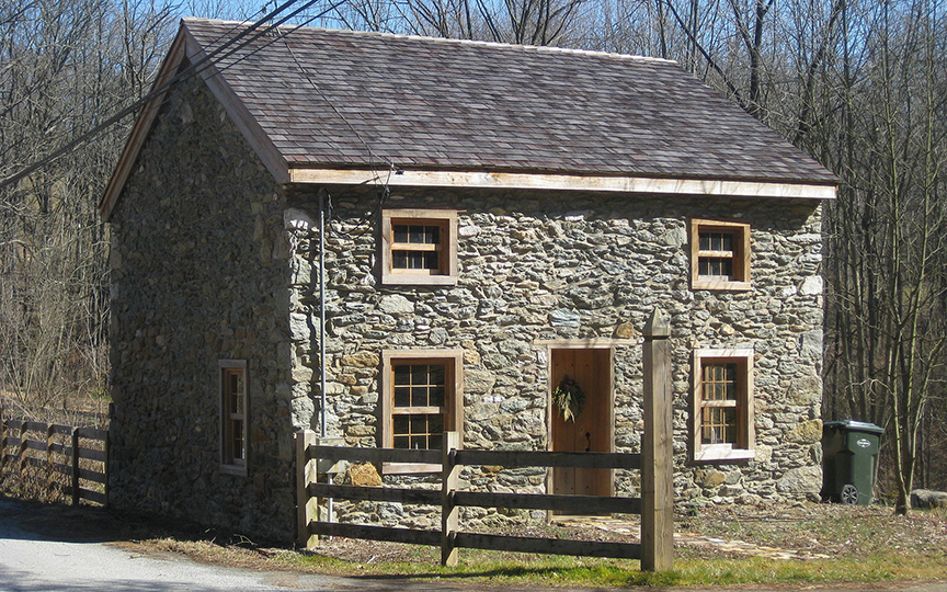 Robert Steen House, ca. 1846, Fairfield Road, East Fallowfield Township, Chester County, PA, National Register