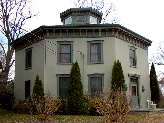 Lukens Pierce House, ca. 1856, Wilmington Road, Ercildoun, PA, National Register