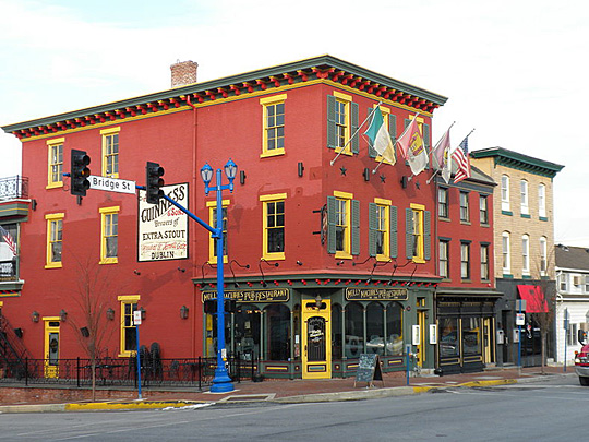 Molly Maguires Pub, Bridge and Main Streets, Phoenixville, PA, National Register
