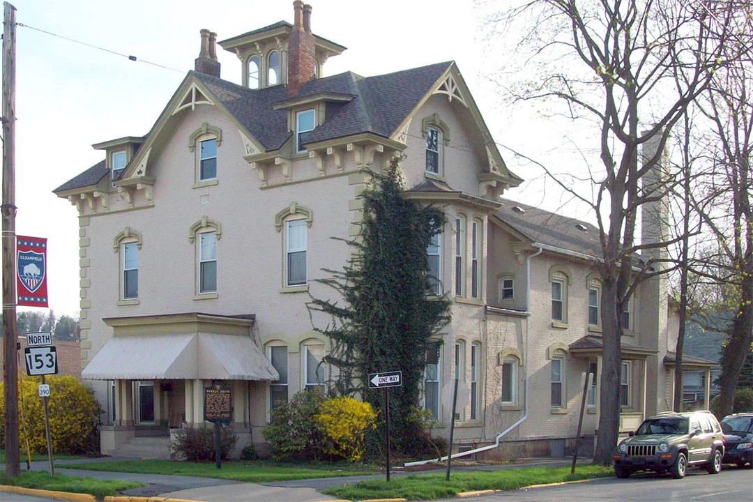 Thomas Murray House, ca. 1876, 120 South Second Street, Clearfield, PA, National Register