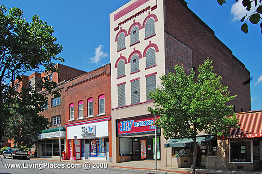 Dubois, National Register, Historic District, Clearfield County, PA