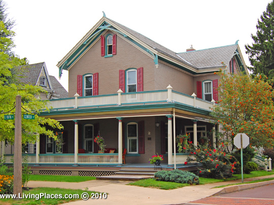 Bloomsburg Historic District, National Register of Historic Places, Columbia County, PA