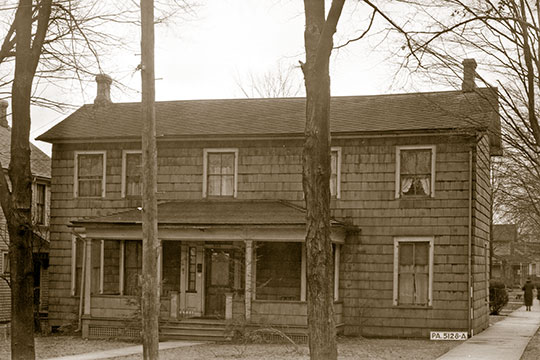 Colonel Drake House, ca. 1858, Titusville, PA, Historic American Buildings Survey