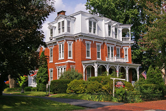 Adam Orris House, ca. 1887, 318 West Main Street, Mechanicsburg PA, National Register