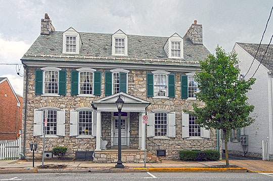 Shippen House, ca. 1750, 52 West King Street, Shippensburg, PA, National Register