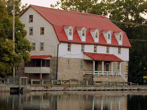 Grist Mill in the Historic District, Boiling Springs, PA, National Register
