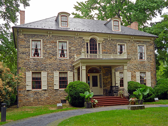 Archibald McAllister House, ca. 1814, 5300 North front Street, Harrisburg, PA, National Register