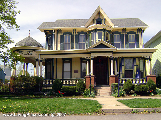 Roberger Stover House, National Register of Historic Places, Berrysburg Boro, Dauphin County Pennsylvania