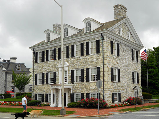 William Maclay Mansion, ca. 1792, Front and South Streets, Harrisburg, PA, National Register