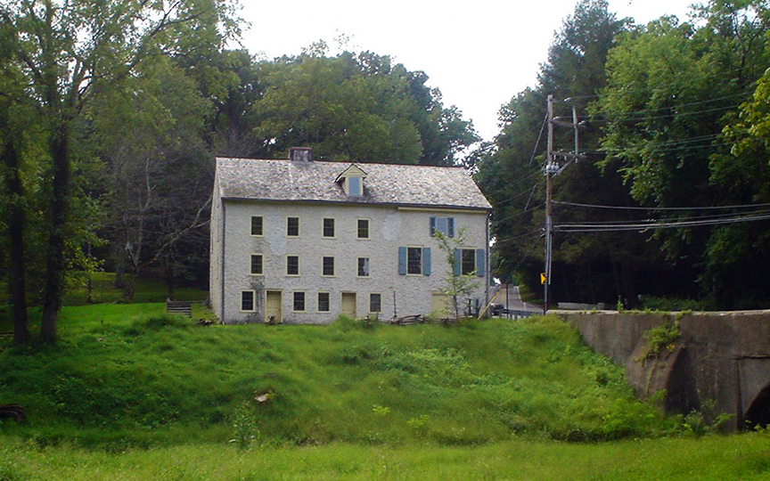 Crosley Garrett Mill in Newtown Township, Delaware County, PA