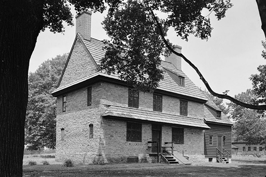 William Brinton House (1704 House), Dilworthtown, Delaware County, PA, national Historic Landmark